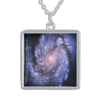 Spiral Galaxy M100 Necklace