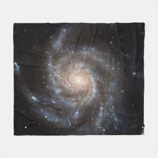 Spiral Galaxy (M101) Fleece Blanket