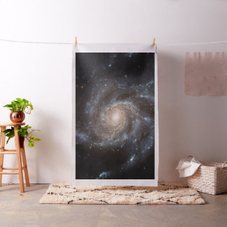 Spiral Galaxy (M101) Tapestry Fabric