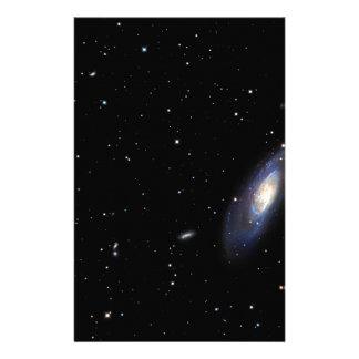 Spiral Galaxy M106 Custom Stationery