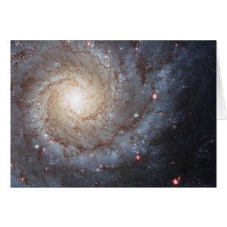 Spiral Galaxy M74 Card