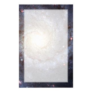 Spiral Galaxy M74 (Hubble) Custom Stationery