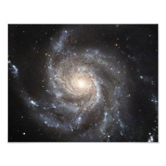 Spiral galaxy Messier 101 Photograph
