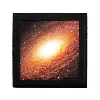 Spiral galaxy small square gift box