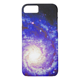 Spiral Galaxy Space Photo iPhone 8/7 Case