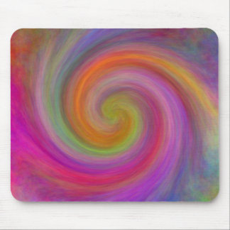 Spiral, gifts mouse pad