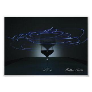 Spiral Glass Photo Print