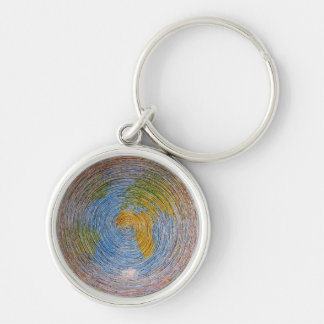 spiral ground key ring
