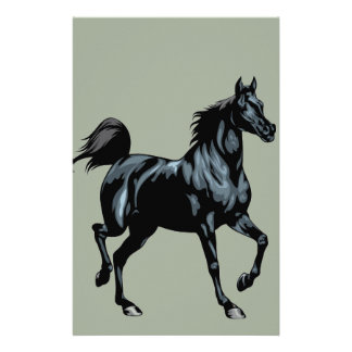 Spiral Horse Notebook Stationery Paper