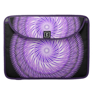 Spiral Illusion Mandala Sleeve For MacBook Pro