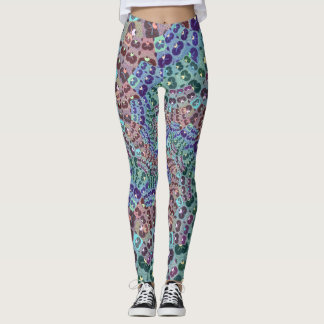 Spiral in Abstract Leggings