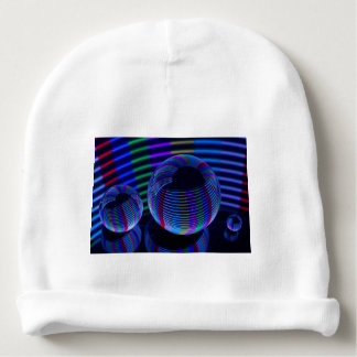 Spiral Lights In The Crystal Baby Beanie