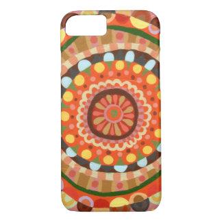 Spiral Mandala Art iPhone 7 case by