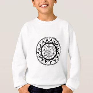 Spiral Mandala Flower Sweatshirt