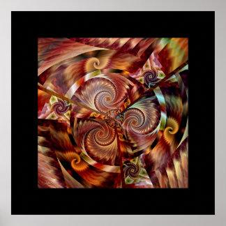 Spiral Mandala Poster