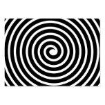 Spiral Motif - Black and White