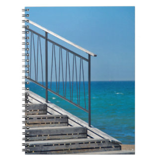 """Spiral note pad """"ascent """" notebook"""