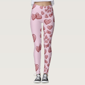 Spiral of Hearts Leggings