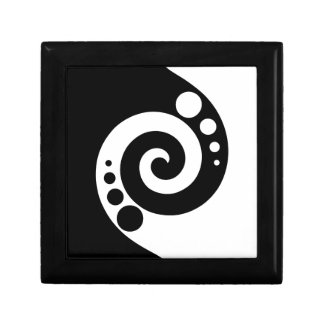 Spiral Of Life Small Square Gift Box