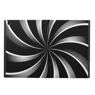 Spiral pattern cover for iPad air