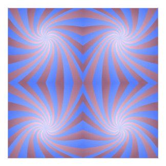 Spiral pattern photo art