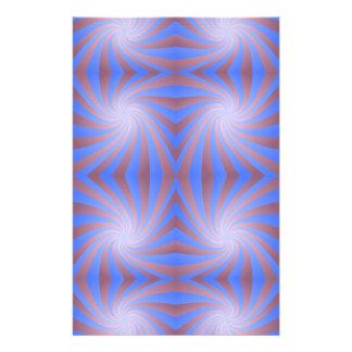 Spiral pattern stationery