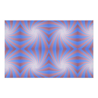 Spiral pattern customized stationery