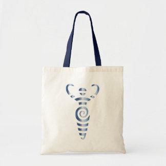 Spiral River Goddess - Blue Steel - 2 Tote Bag