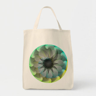 Spiral Shark Grocery Tote
