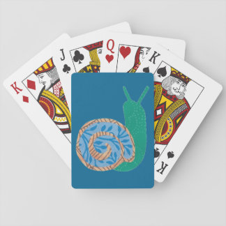 Spiral Snail Playing Cards