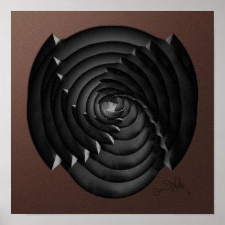Spiral Sphere Poster