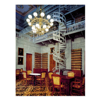 Spiral Staircase, Tennessee State Capitol Building Postcard