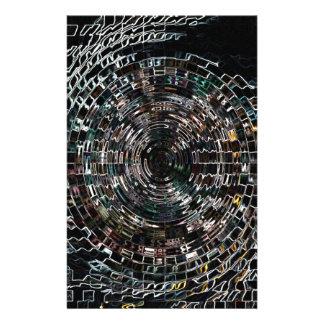 Spiral Stationery Design