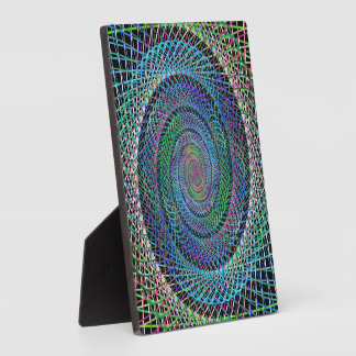 Spiral structure plaques