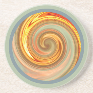 Spiral Sunset Fractal Coaster