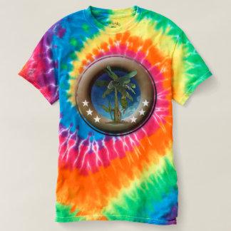 Spiral T-shirt in batik for man, Eddy