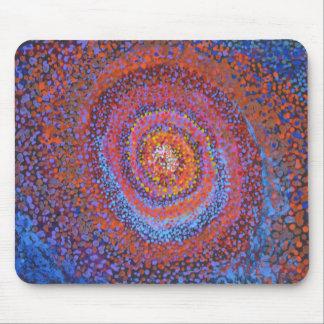 Spiral vortex - Abstract Mousepad