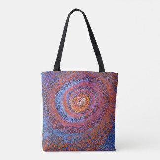 Spiral vortex - Abstract Totebag Tote Bag