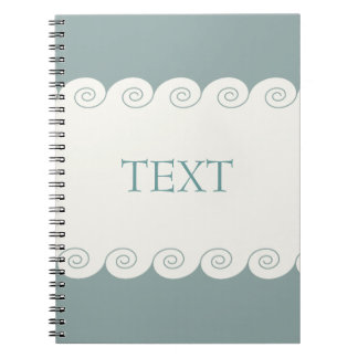 Spiral Waves Spiral Notebook