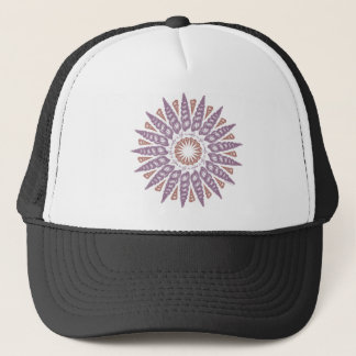 Spiral Wentletrap Shell Circle v2 Trucker Hat