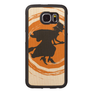 Spiral Witch II Wood Phone Case