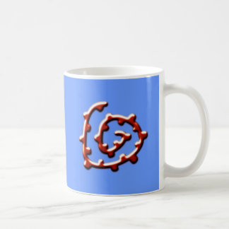 Spiral with knot spiral with knots mugs