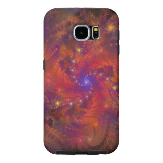 Spiralized Space Trip Samsung Galaxy S6 Cases