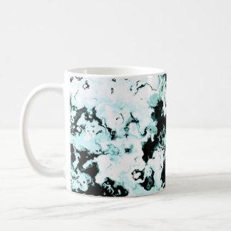 Spiralling Clouds Aqua Mug
