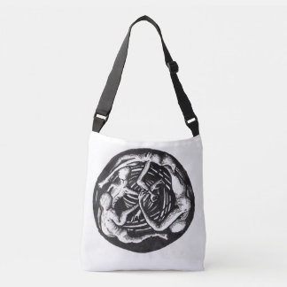 Spiralling Descent Crossbody Bag