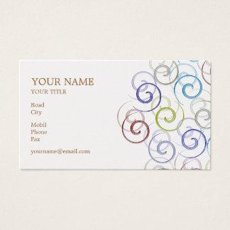 Spirals Business Card