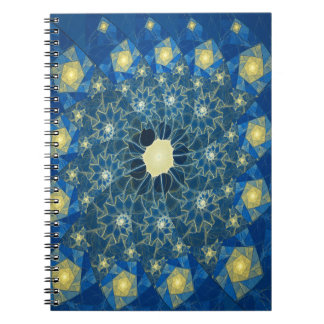 Spirals Stained Glass Notebook