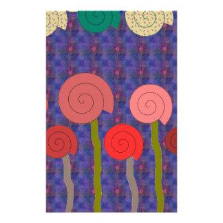 spirals stationery paper