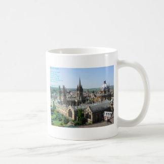 Spires of Oxford poem by: Winifried Mabel Letts Coffee Mug