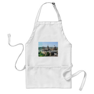 Spires of Oxford poem by: Winifried Mabel Letts Standard Apron